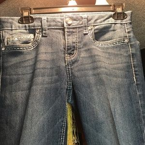 GENTLY WORN MUDD JEANS . . . EXCELLENT SHAPE . . .